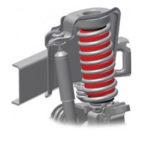 Mazda Bongo rear Air-Lift 1000 kit