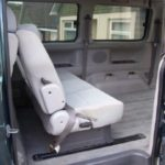 Rear facing seat