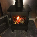Gnome wood burner