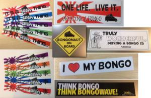 Bongo Stickers - www.bongobuddy.co.uk