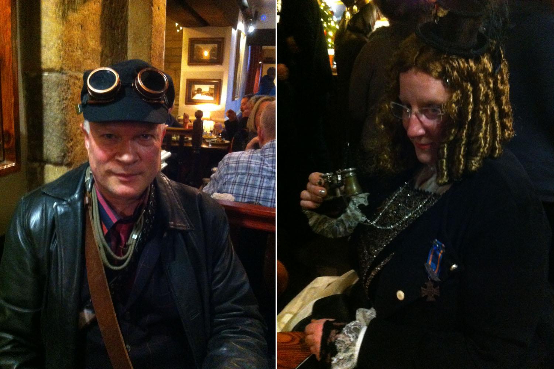 Richard and Jo - Steampunk Haworth