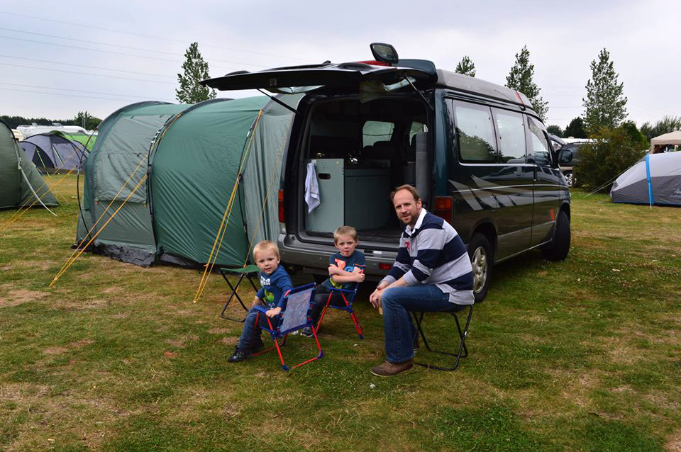 Photo by Caryl Ingman - Camping with the Boys
