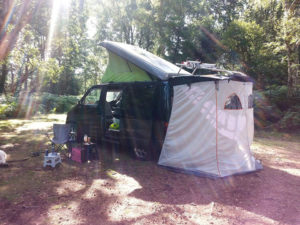 Wild camping by Dave Westgarth - BongoBuddy.co.uk