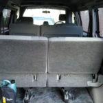 Rear split seat